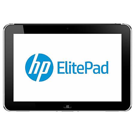 """HP ElitePad 900 G1 Tablet - 10.1"""" - 2 GB LPDDR2 - Intel Atom Z2760 Dual-core (2 Core) 1.80 GHz - 32 GB - Windows 8 Pro 32-bit - 1280 x 800 - 3G"""