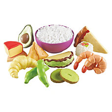 New Sprouts Classroom Food Set Plastic