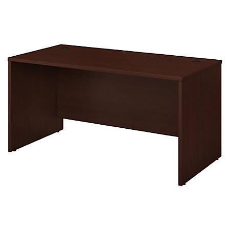 "Bush Business Furniture Studio C Office Desk, 60""W, Harvest Cherry, Standard Delivery"