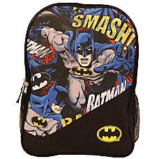 Batman Sublimated Backpack Black
