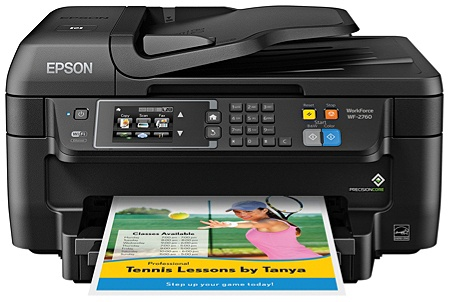 epson workforce wf 2760 wireless color inkjet all in one printer copier scanner fax by office depot officemax