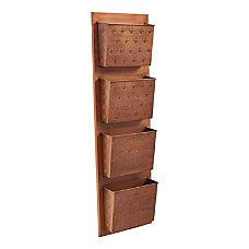 Linon Rio 4 Slot Wall Mailbox