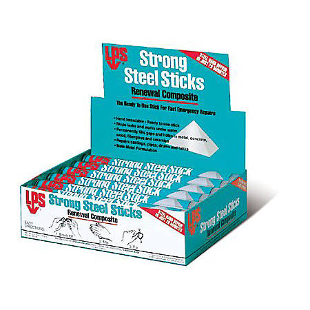 Devcon® Strong Steel Sticks Renewal Composite, 4 Oz, Box Of 12