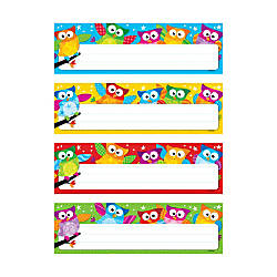 TREND Owl Stars Desk Toppers Variety