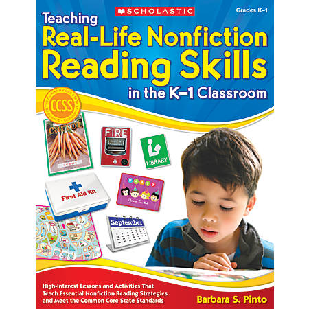 Scholastic Teaching Real-Life Nonfiction Reading Skills In The K–1 Classroom