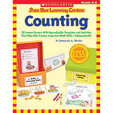 Shoe Box Learning Centers Counting
