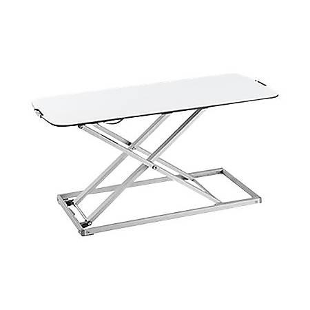 Amer EZUP SLIM - Standing desk converter - rectangular - white