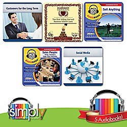 Marketing Sales Audiobooks 5 Title Collection