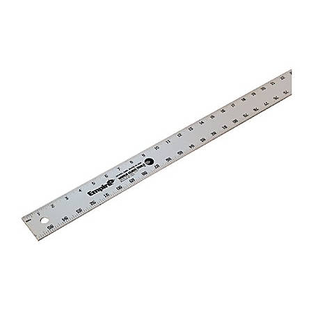 "Empire Level® 96"" Heavy Duty Aluminum Straight Edge Ruler"