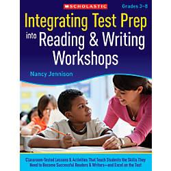 Scholastic Integrating Test Prep Into Reading