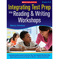 Scholastic Integrating Test Prep Into Reading