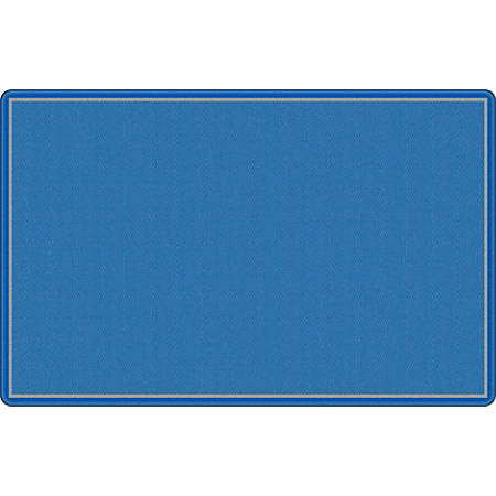 "Flagship Carpets All Over Weave Area Rug, 7' 6"" x 12', Blue"