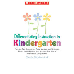 Scholastic Differentiating Instruction In Kindergarten