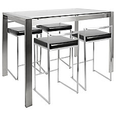 Lumisource Fuji Counter Height Table With