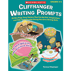 Scholastic Cliffhanger Writing Prompts