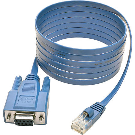 Tripp Lite 6ft Cisco Serial Console Port Rollover Cable RJ45 to DB9F 6'