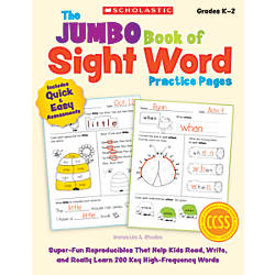 Scholastic The Jumbo Book Of Sight