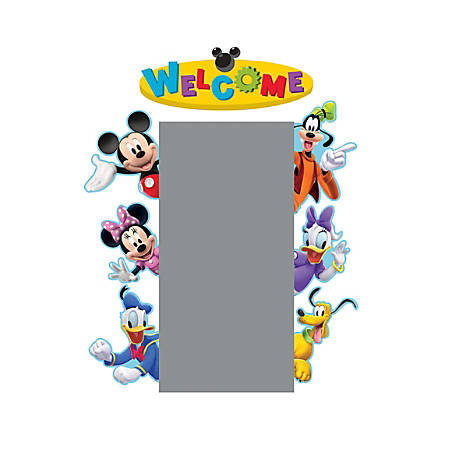 Eureka Welcome Go-Arounds® Accents, Mickey Mouse Clubhouse®, Multicolor, Pre-K - Grade 12, Pack Of 7