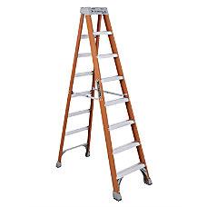 Louisville 8 Fiberglass Step Ladder 7