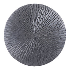 Zuo Modern Round Wave Plaque Large