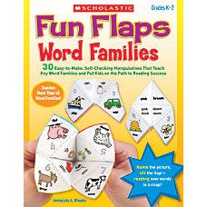 Scholastic Fun Flaps Word Families