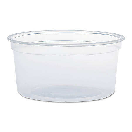 Dart® MicroGourmet™ Food Containers, 12 Oz, Clear, Pack Of 500 Containers