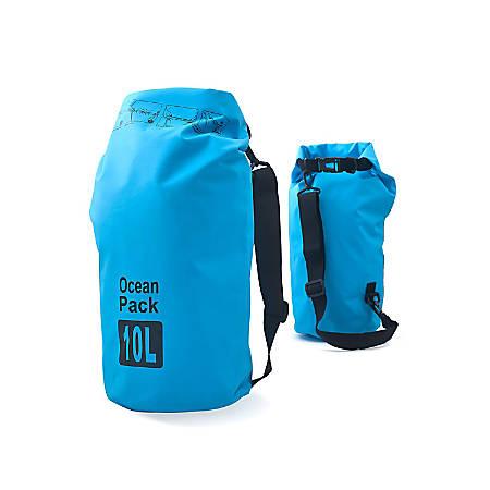 Zodaca 10000 ML Waterproof Outdoor Adventure Dry Bag, Blue