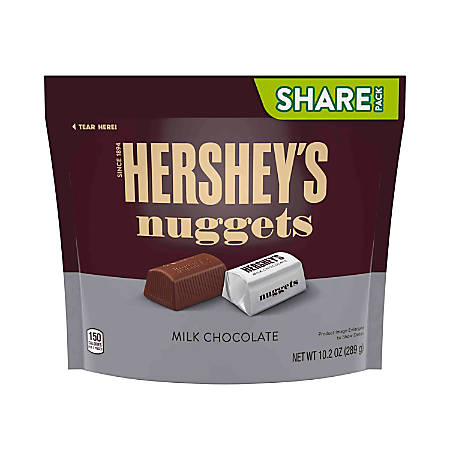 Hershey's® Nuggets Milk Chocolate Candy, 10.2 Oz, Pack Of 3 Bags