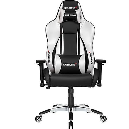 AKRacing Master Series Premium Gaming Chair, Silver