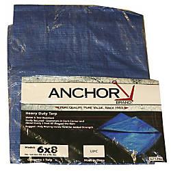 ANCHOR 11016 18' X 24' POLY TARP WOVEN LAMIN Item# 961942 | Tuggl