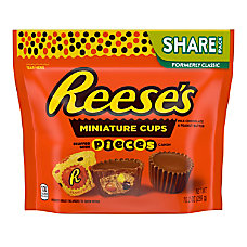 Reeses Miniature Cups Stuffed With Reeses