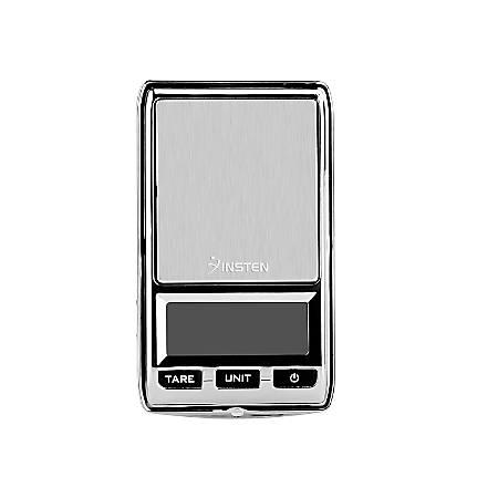 Insten Digital Pocket Scale, 0.01 - 17.6 Oz, Gray