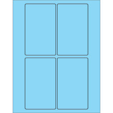 Office Depot Brand Labels LL175BE Rectangle
