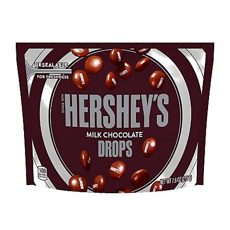 Hershey's® Milk Chocolate Drops, 7.6 Oz, Pack Of 3 Bags