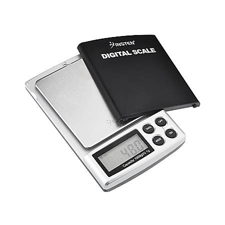 Insten Digital Pocket Scale, 0.01 - 35.27 Oz, Black
