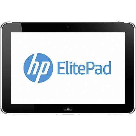 "HP ElitePad 900 G1 Tablet - 10.1"" WXGA - 2 GB RAM - 64 GB Storage - Windows 8 Pro 32-bit - 3G - Aluminum, Black"