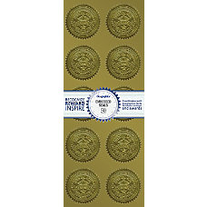 Geographics Embossed Seals Excellence 2 Diameter