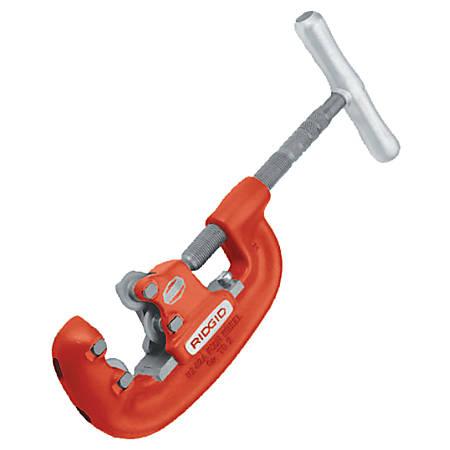 4-Wheel Pipe Cutters, 3/4 in-2 in Cap., For Steel Pipe