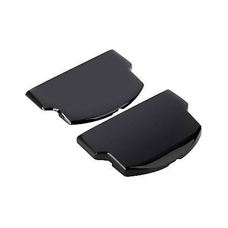 Insten Battery Door Set Slim & Extended For Sony PSP 2000 And PSP 3000, Black