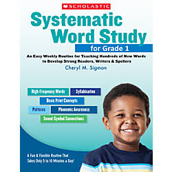 Scholastic Systematic Word Study For Grade