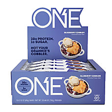 ONE Blueberry Cobbler Protein Bars 212
