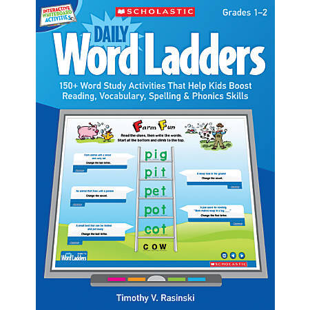 Scholastic Interactive Whiteboard Activities: Daily Word Ladders, Grades K–1