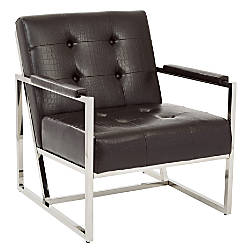 Ave Six Nathan Arm Chair Espresso