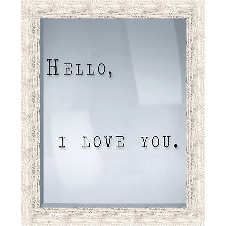"PTM Images Framed Art, I Love You, 21 1/2""H x 17 1/2""W"