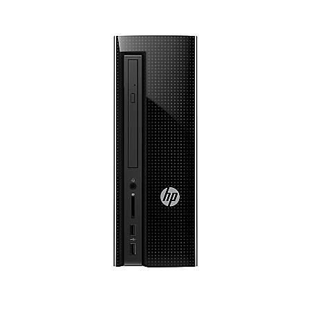HP Slimline Desktop Tower PC, Intel® Pentium®, 4GB Memory, 1TB Hard Drive, Windows® 10