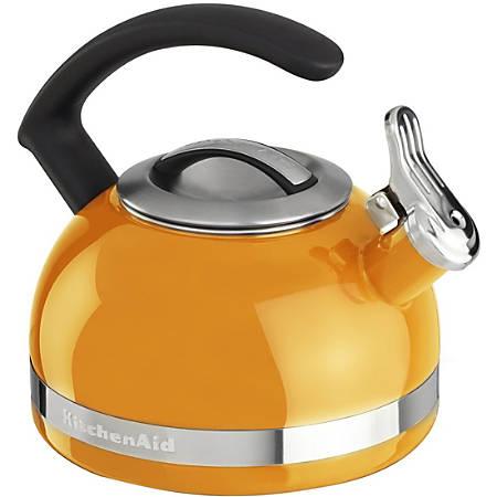 KitchenAid® 2.0-Quart Kettle with C Handle and Trim Band, Mandarin Orange