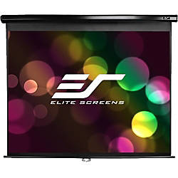 Elite Screens M85UWS1 Manual Pull Down