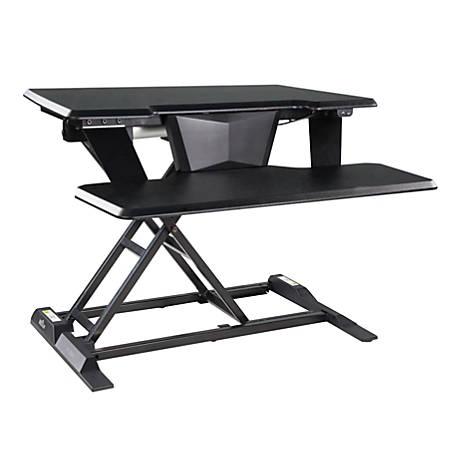 VARIDESK ProPlus 32 Electric Standing Desk Converter, Black