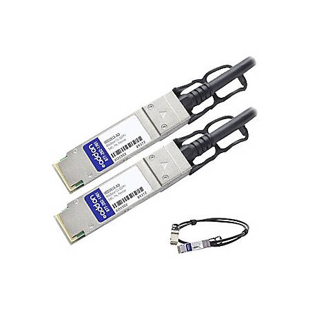 AddOn IBM 00D5813 Compatible TAA Compliant 40GBase-CU QSFP+ to QSFP+ Direct Attach Cable (Passive Twinax, 7m) - 100% compatible and guaranteed to work
