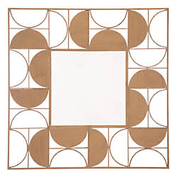Zuo Modern Decade Square Mirror 39